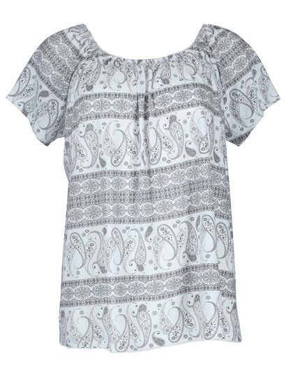 Plus Allover Print Knit Gypsy Womens