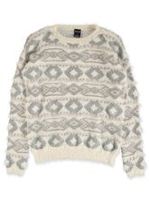 WOMENS JACQUARD AZTEC PULLOVER