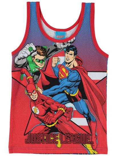 Boys Justice League Singlet