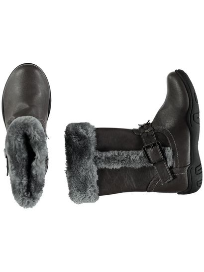 Toddler Girl Fur Trim Boot