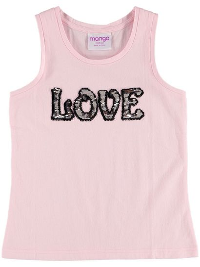 Girls Flip Sequin Tank