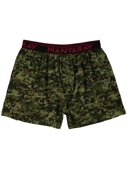 MENS PRINTED KNIT BOXER