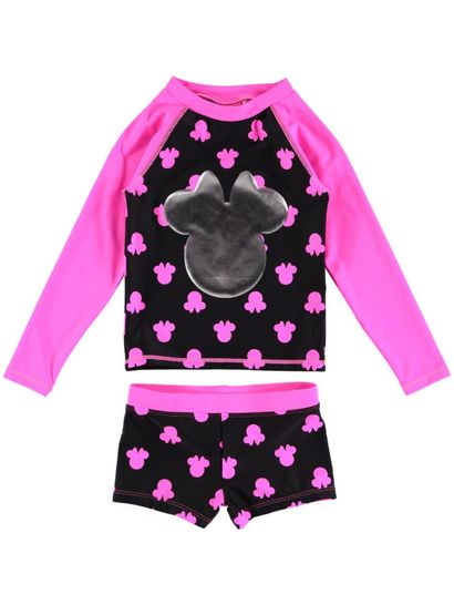 Toddler Girls Minnie Swim Set