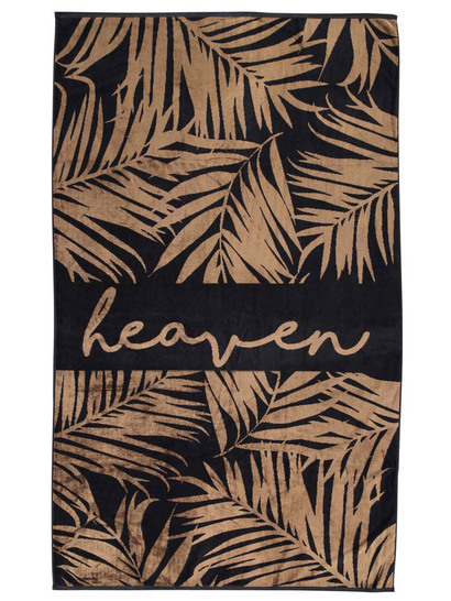 Jacquard Velour Beach Towel