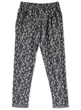 GIRLS FLEECE PRINT TRACKPANT