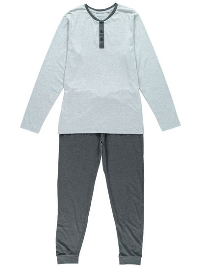 Mens Knit Jogger Pant Sleep Set