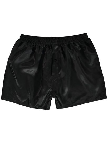Plain Satin Boxer