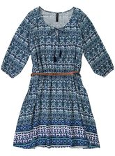 WOMENS BELTED DRESS