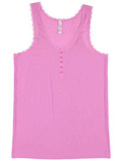 Rib Tank Top Womens Plus Sleepwear