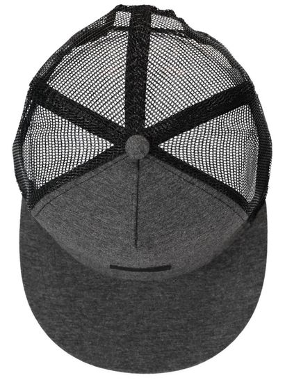 MEN GREY MESH CAP