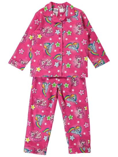 Girls My Little Pony Flannelette Pyjamas
