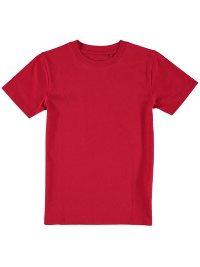 RED KIDS ORGANIC COTTON TEE