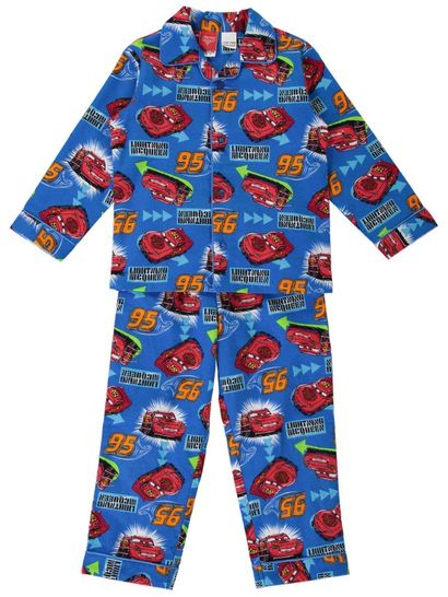 Boys Cars Flannelette Pyjamas