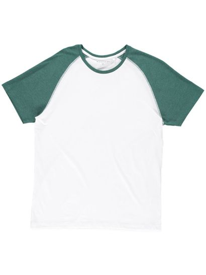 Mens Short Sleeve Raglan Tee