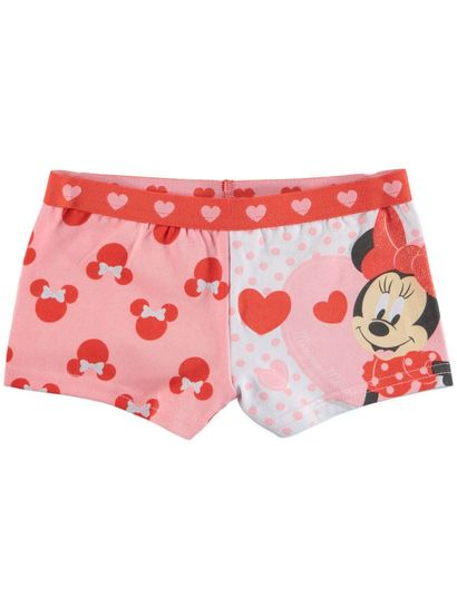 Girls Licence Shortie - Minnie Mouse