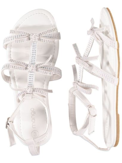 Girls S Crystal Sandal