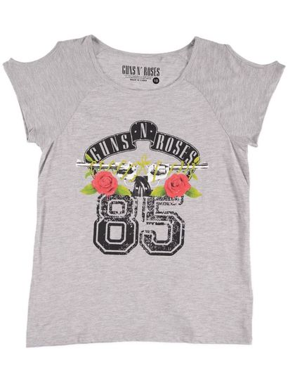 Ladies Guns N Roses Tee