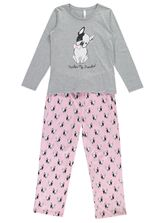 Knit Pyjama With Seahorse Print Womens Sleepwear
