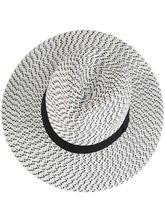 WOMEN MONOCHROME TRILBY