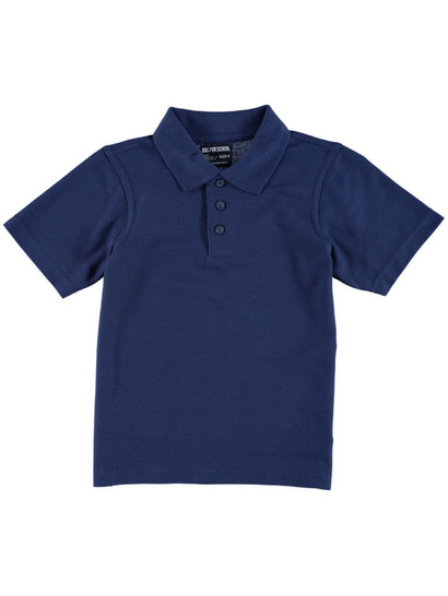 NAVY BLUE KIDS POLO