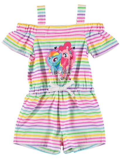 Toddler Girls My Little Poly Shortall