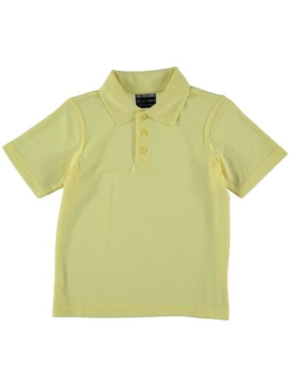 LIGHT YELLOW KIDS POLO