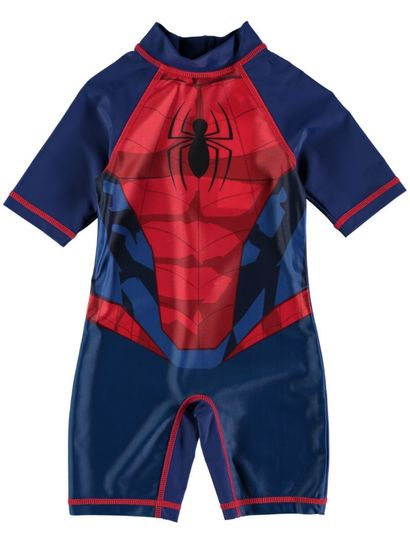 Boys Spiderman 1-Piece Swimsuit