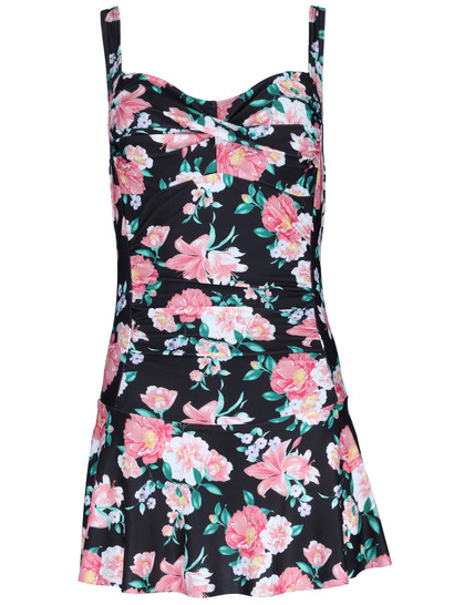 Womens Skirted One Piece