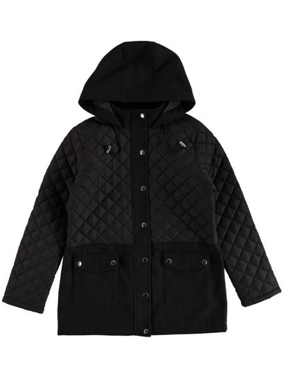 Plus Quilted Jacket Womens