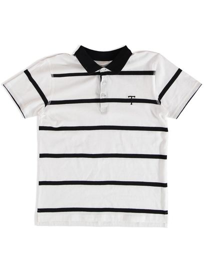 BOYS STRIPE POLO TOP