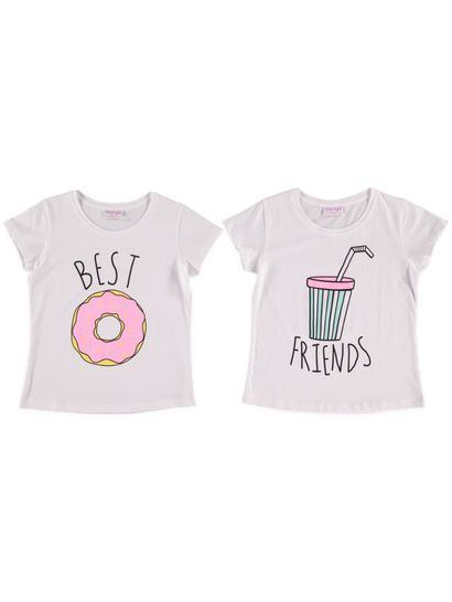 Girls Food T Shirts 2 Pack