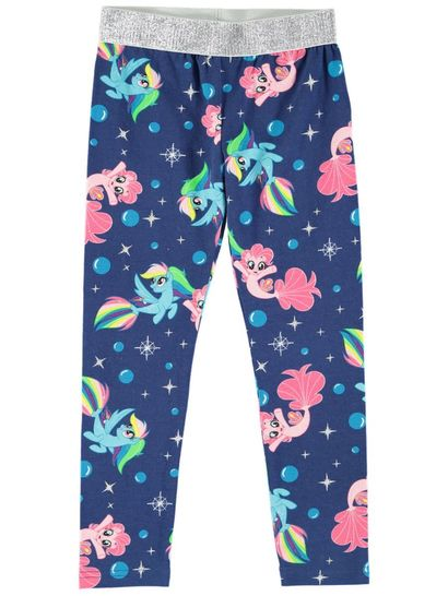 Toddler Girl My Little Pony Legging With Glitter