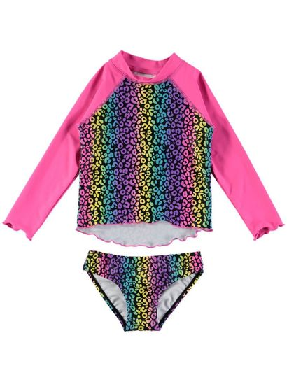 Toddler Girls Rash Top And Bottom Set