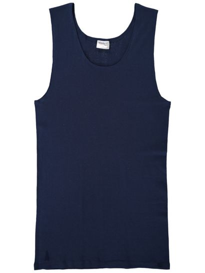 Mens Ribbed Singlet