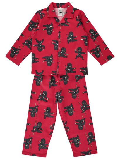 Boys Packaged Flannelette Pyjama