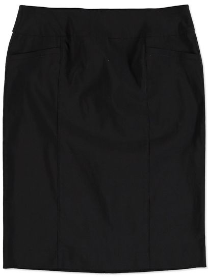 PLUS PULL ON BENGALINE SKIRT WOMENS