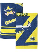 2Pk Cowboys Velour Tea Towel