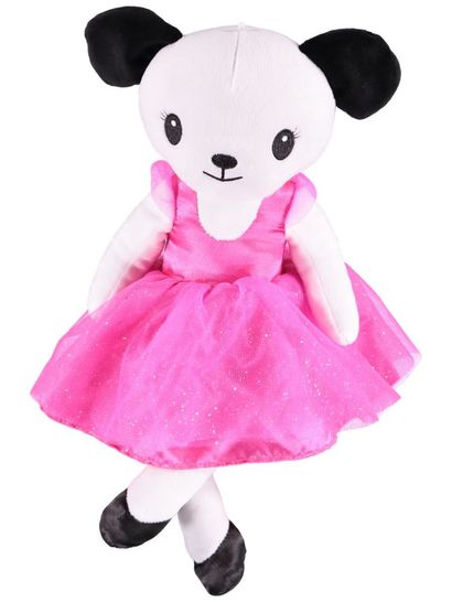Plush Dog Ballerina