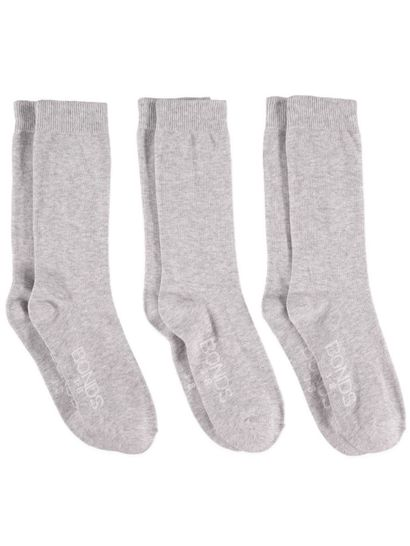 BONDS 3PK CREW OXFORD SOCK WOMENS