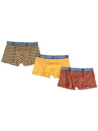 MENS 3PK TRUNKS