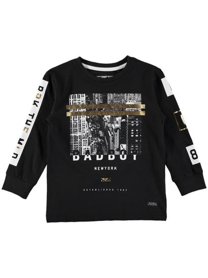 Boys Bad Boy Ls Tee