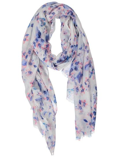 Buttefly Print Scarf