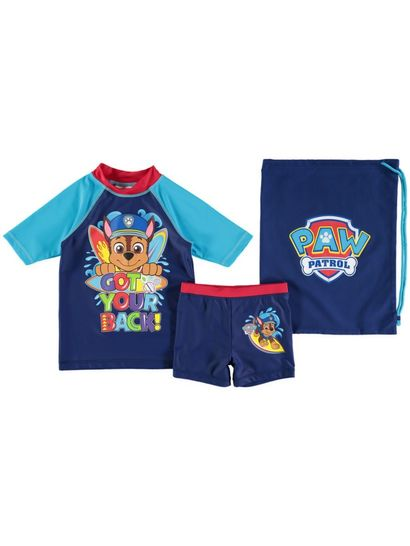 Boys 3-Piece Paw Patrol Swim Set