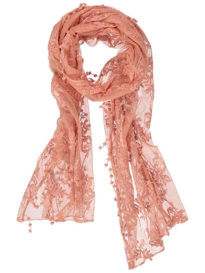 Womens Lace Scarf