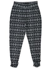 WOMENS PLUS SIZE PRINTED PANT