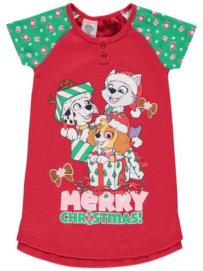Girls Paw Patrol Xmas Nightie