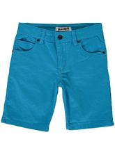 BOYS PLAIN COLOURED DENIM SHORT
