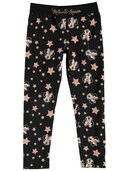 Toddler Girl Minnie Legging With Glitter