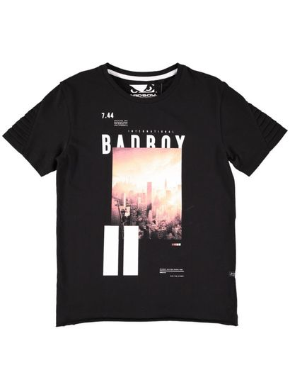 Boys Bad Boy Ss Print Tee