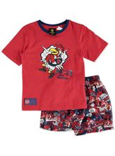 NRL TODDLER KNIT SATIN PJ